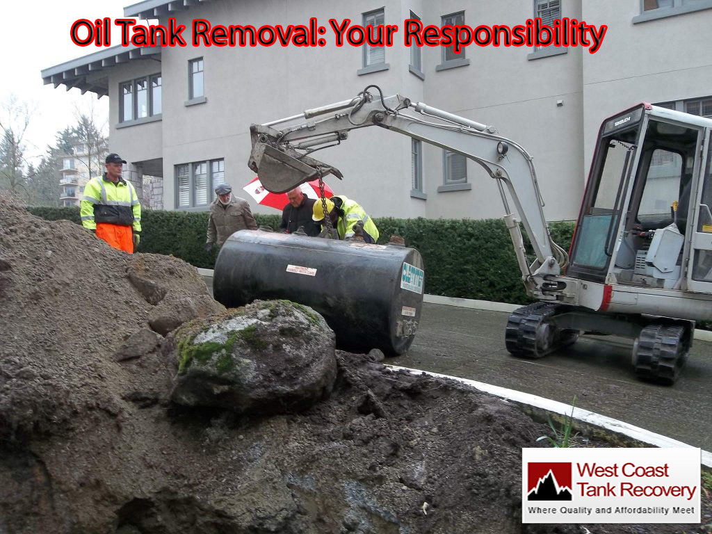 Oil Tank Removal Your Responsibility